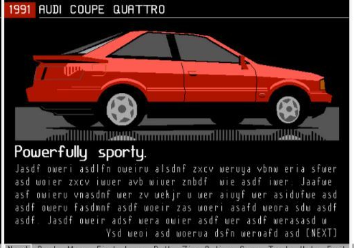 prodigy car ads